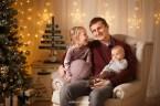 Новогодняя фотосессия в Риге, семейная фотосессия