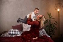 фотосессия мама и двухлетний сын