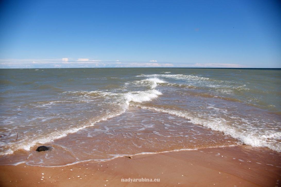 Колка - место встречи Рижского залива и Балтийского моря