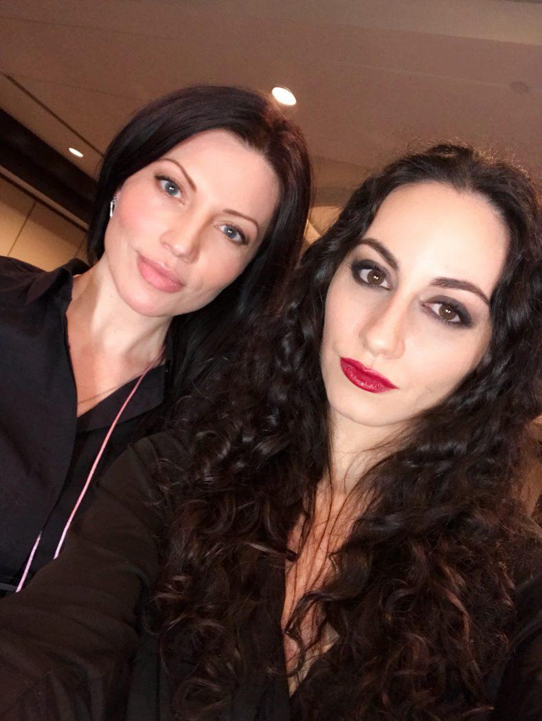 BTS fashion week Montreal makeup artist NADY