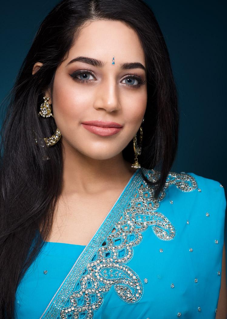 hindu makeup bride montreal