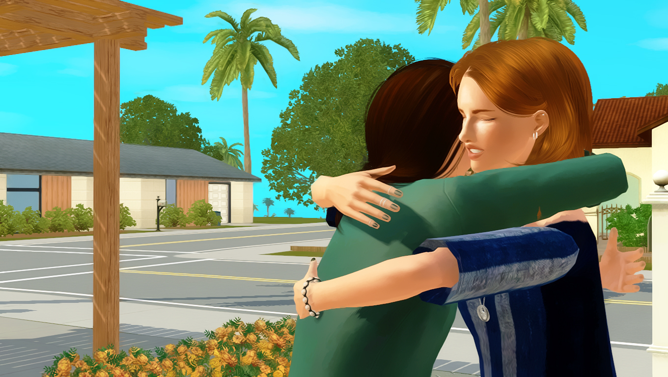 Ts3cc Goodbye Hug Pose Pack World Of My Own