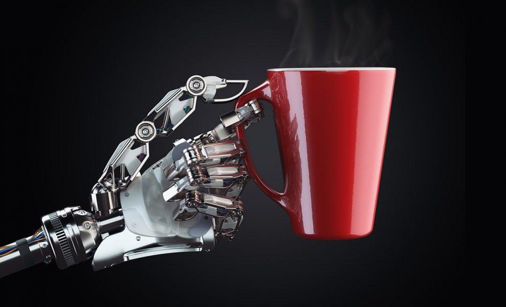 Sensorhandschuh lehrt Roboter das Fühlen