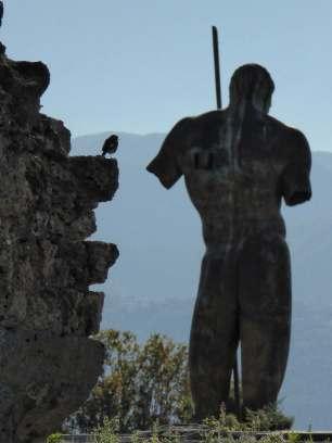 """""""Die Stadtkasse sollen wir teilen, meiner Meinung nach, denn unsere Kasse hat viel Geld."""" - Graffiti, gefunden an einem unbekannten Ort, aus Pompeji."""