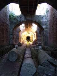 Unter dem Arenaboden schufteten die Sklaven. Sie waren die unsichtbaren Geister der antiken Entertainmentindustrie.