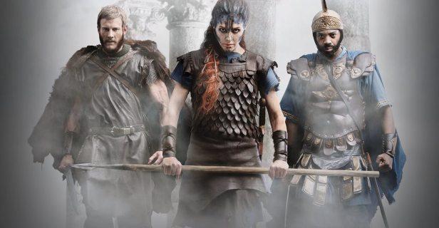 Von links: Arminius, Boudicca, Hannibal.