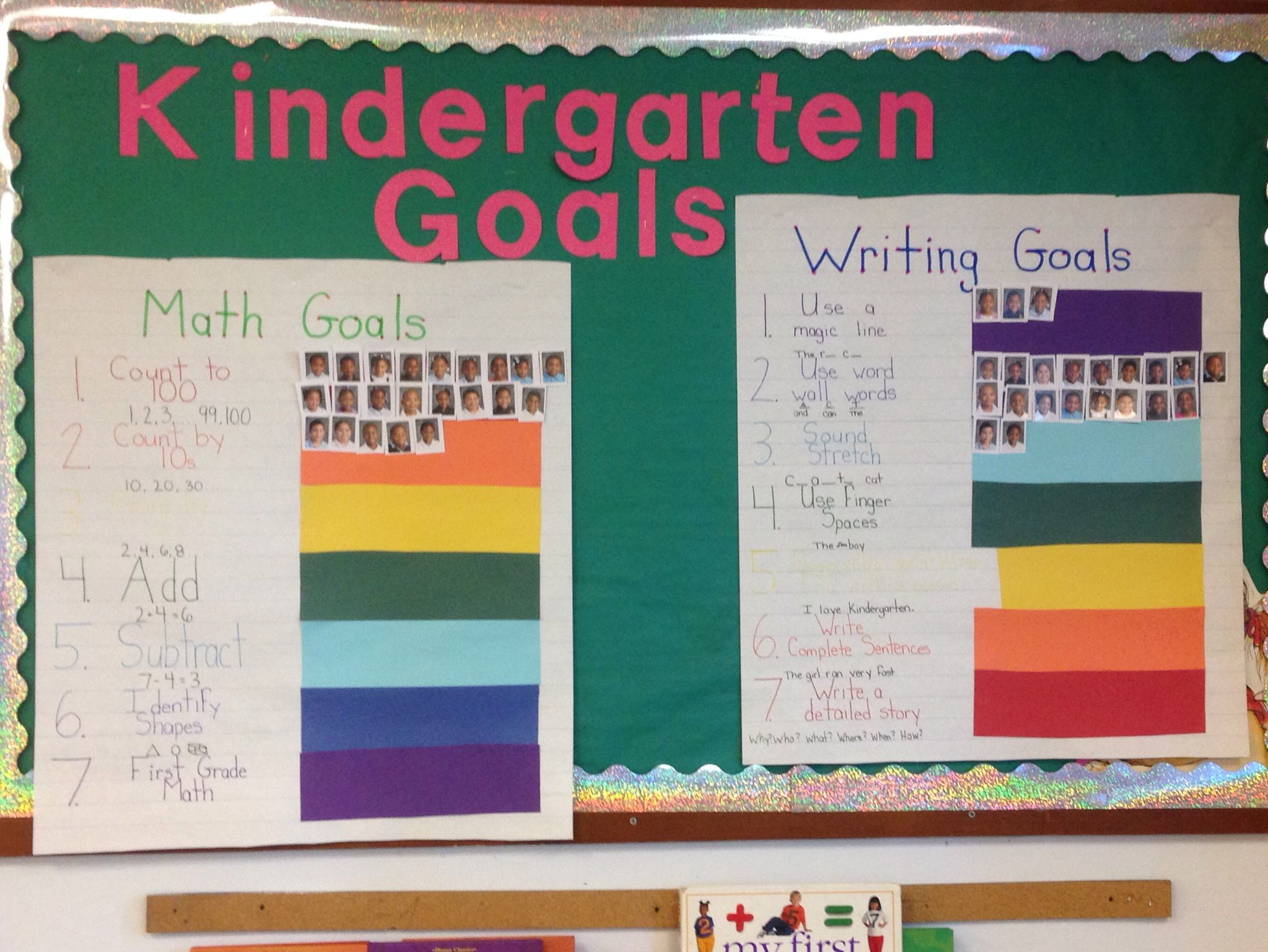 Kindergarten Goals For The Whole School Year