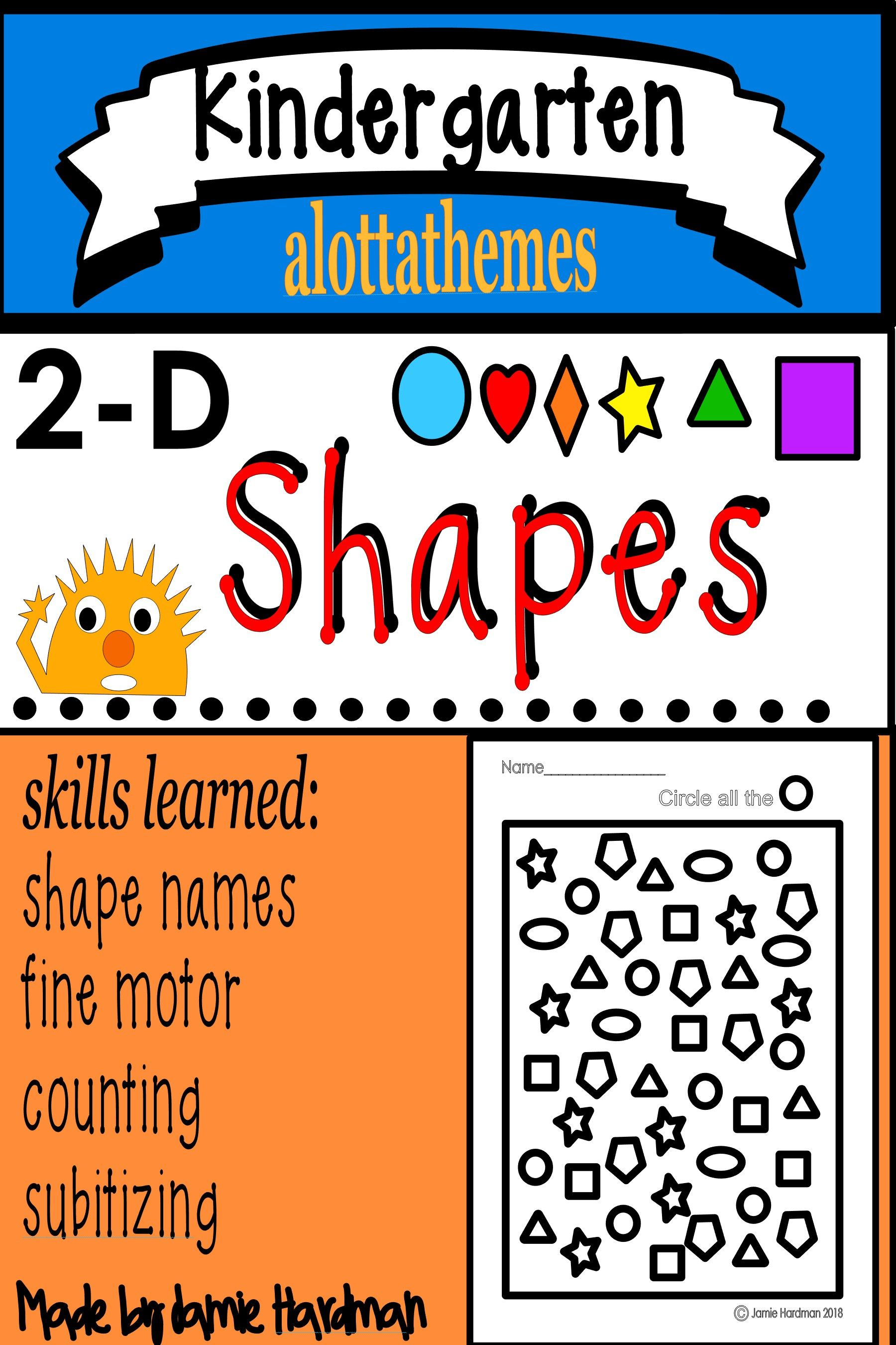 15 Best Shapes Kindergarten Images On All About Kindergarten