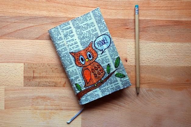 Красиво оформить дневник своими руками