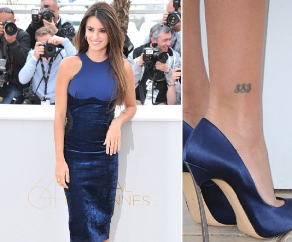 Penelope-Cruz-has-her-favourite-numbers-883-tattooed-above-her
