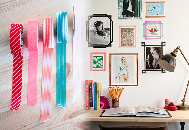 Washi-Tape-Snapshot-Frames-Wall-Art