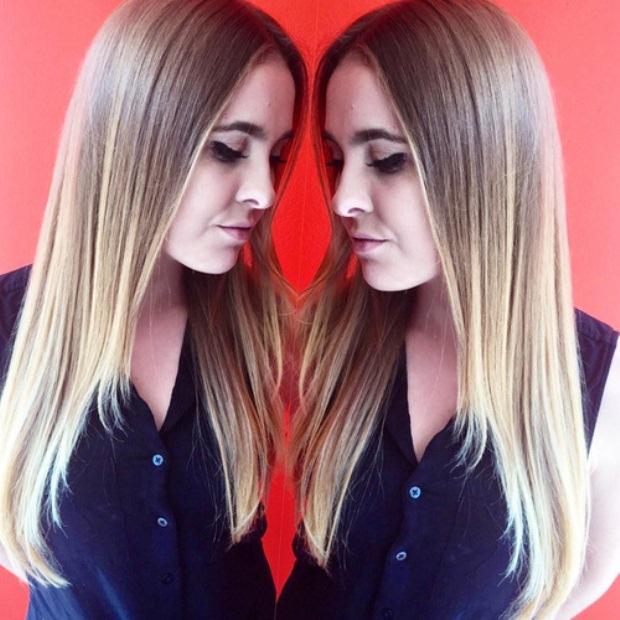 sleek-and-straight-brown-blonde-hair