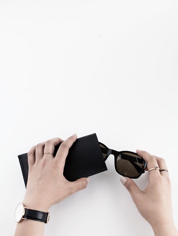 Diy-δέρμα-γυαλιά ηλίου-θήκη-7