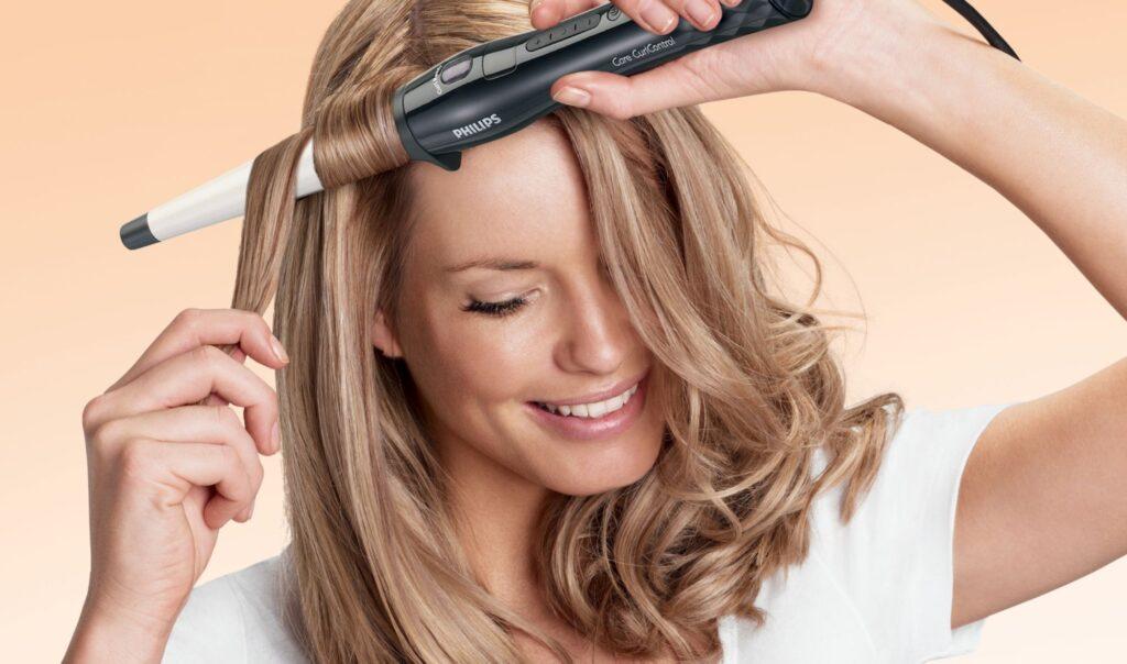 Сколько держать плойку на волосах