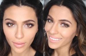 Быстрый макияж для карих глаз