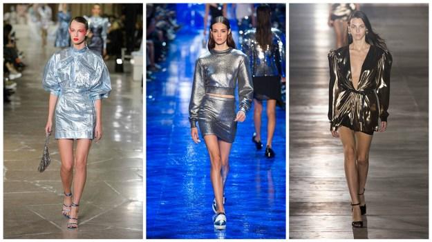 Модные тенденции 2017 металлик