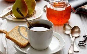 Кофе с тостом