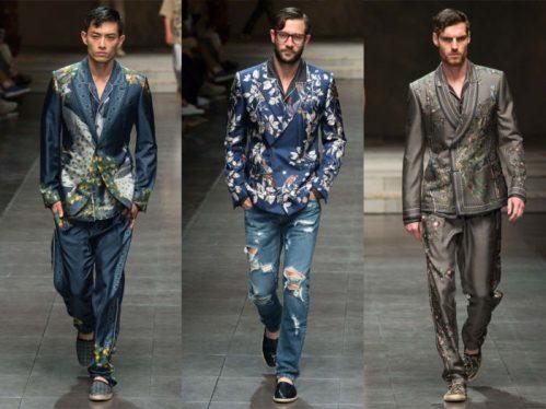 Принты в мужской одежде