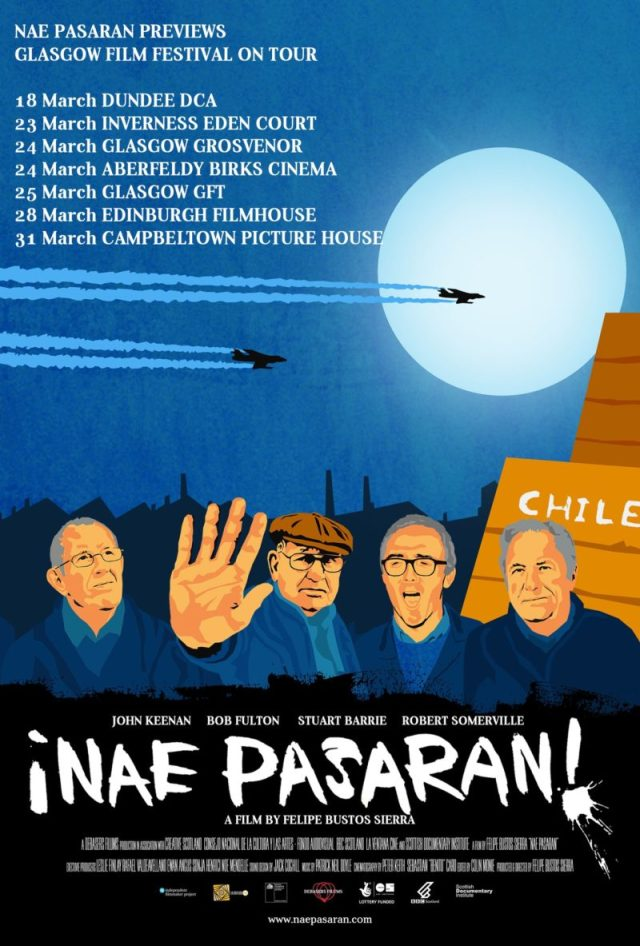 Nae Pasaran preview tour poster