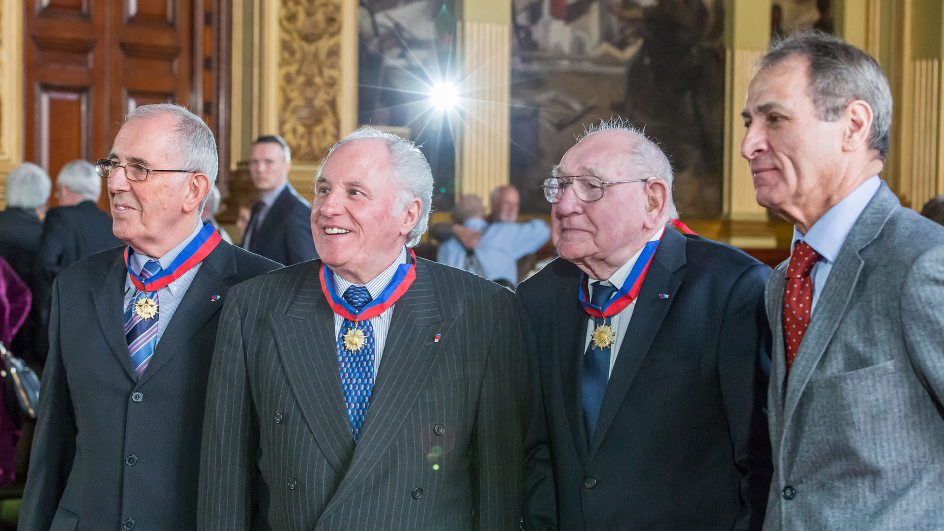 Medal ceremony, Glasgow