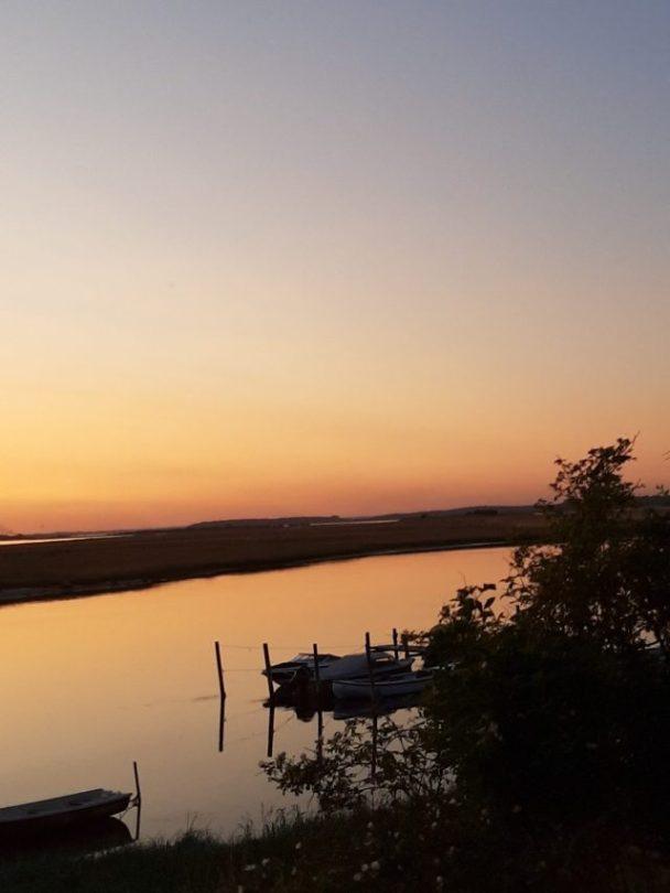 Solnedgang over Svinø
