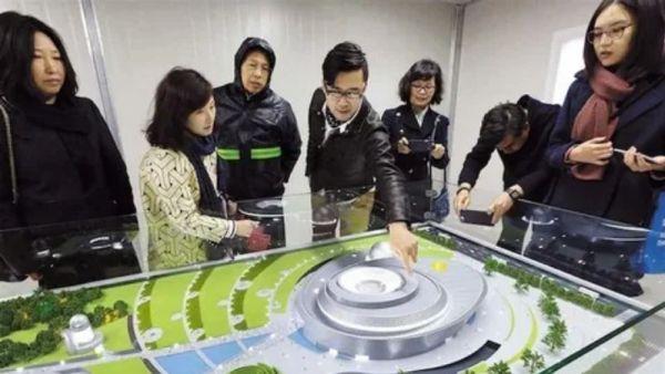 World's largest planetarium opens in Shanghai.