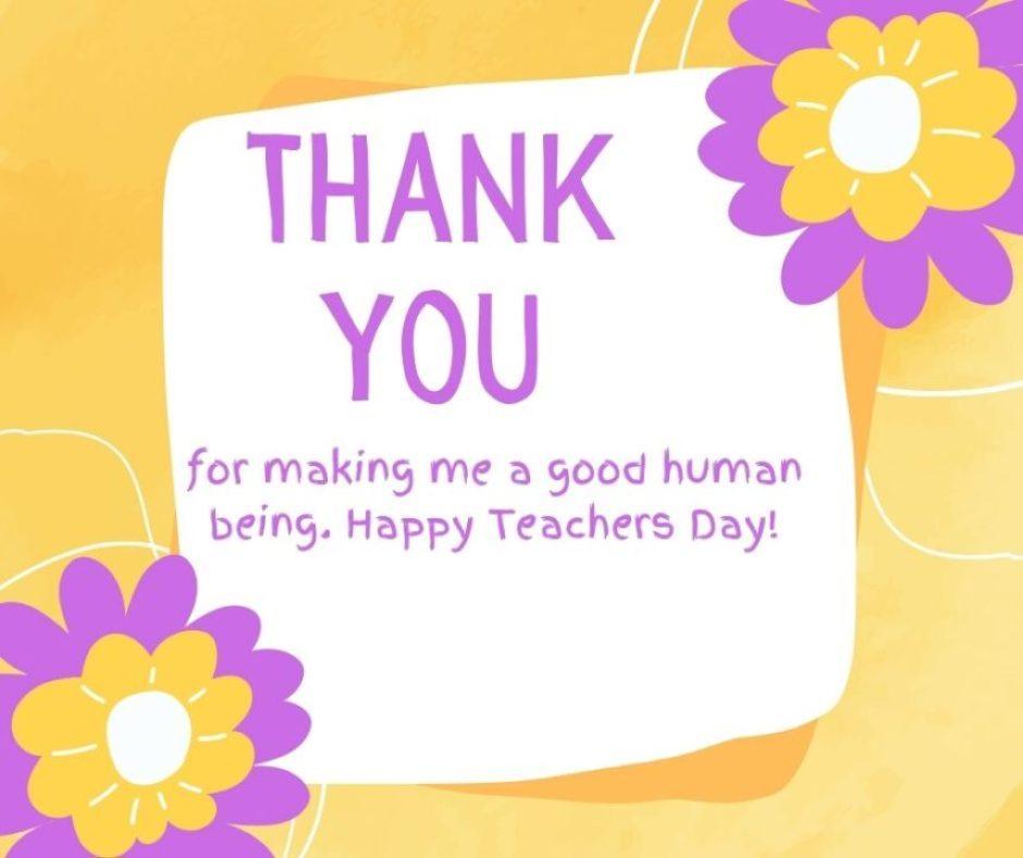 Teachers day message for instagram