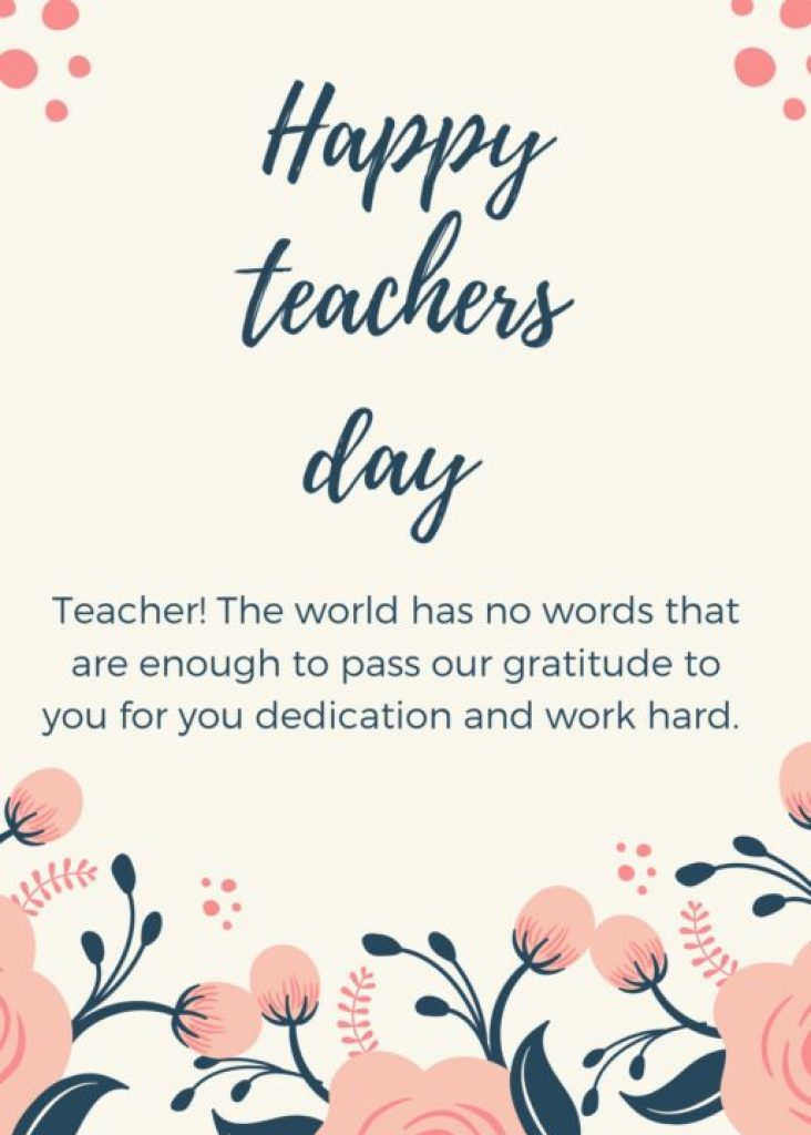 Teachers day wishes for Instagram status