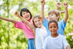 Children playing NAET Dubai