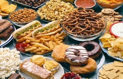 unhealthy food - intolerances