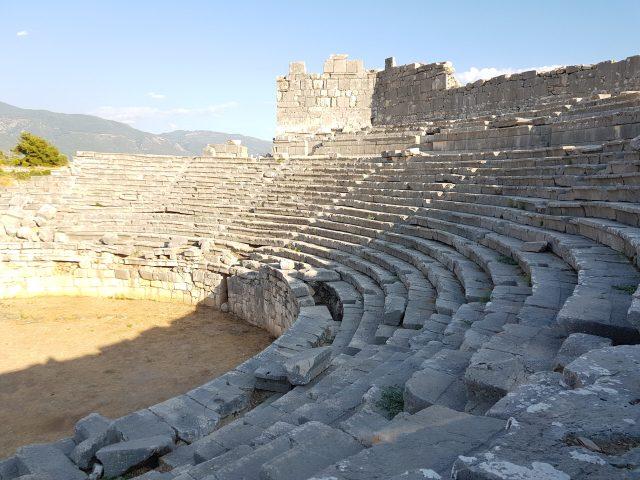 xanthos antik kenti tiyatro