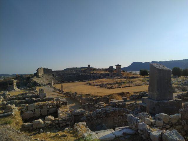 Xanthos antik kenti kapsamlı fotoğraf