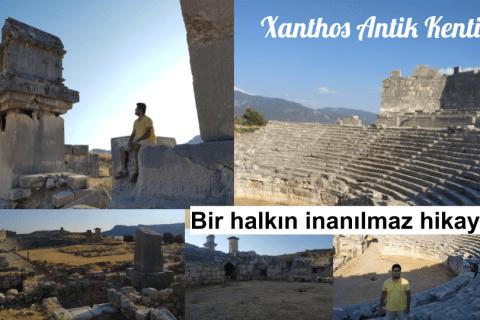 Xanthos Antik Kenti Kaş Antalya