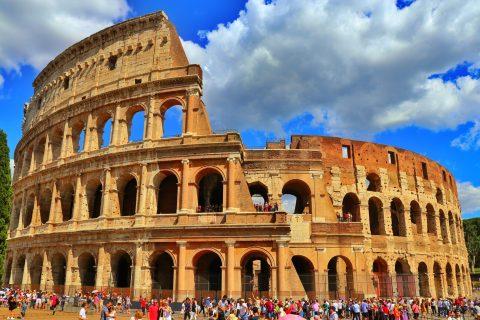 Kolezyum Flavianus Amfitiyatrosu İtalya