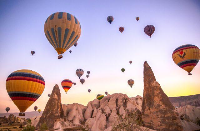 nevşehir gezilecek yerler göreme balon turu