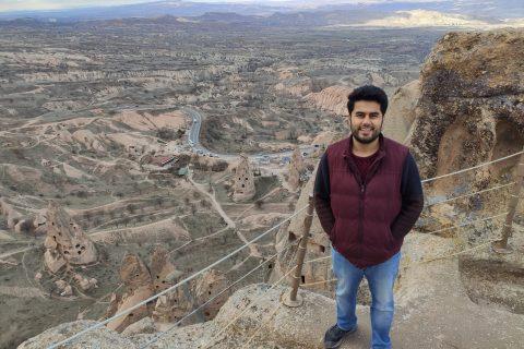 Nevşehir'e tepeden bakmak Uçhisar Kalesi