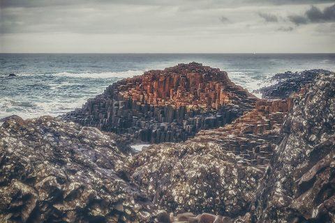 Devler Kaldırımı (Giant's Causeway) Kuzey İrlanda