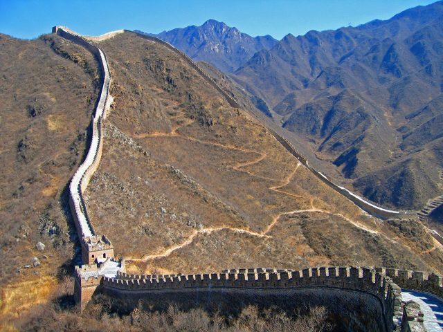 Çin Seddi Dünyanın En Uzun Savunma Duvarı
