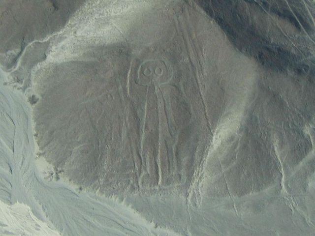 Nazca Çizgileri uzaylı