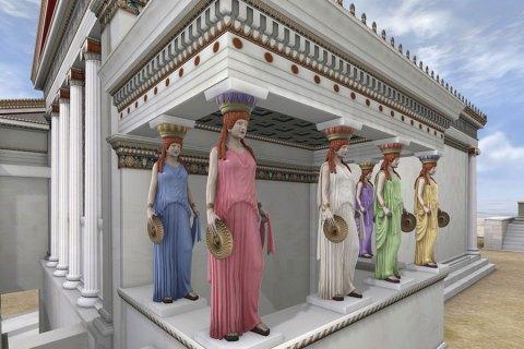 Atina Akropolisi Eskiden Nasıl Görünüyordu ?