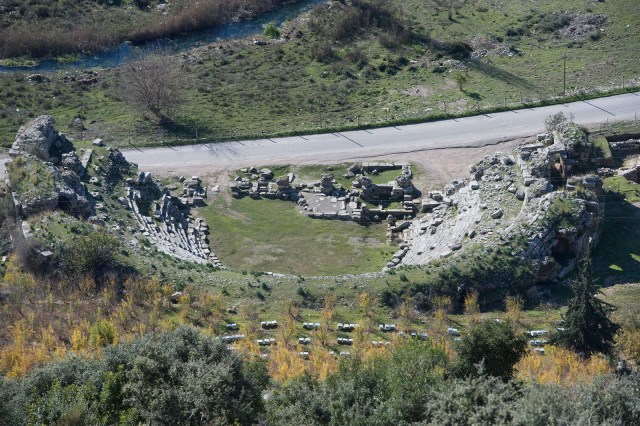 Limyra Antik Kenti tiyatrosu