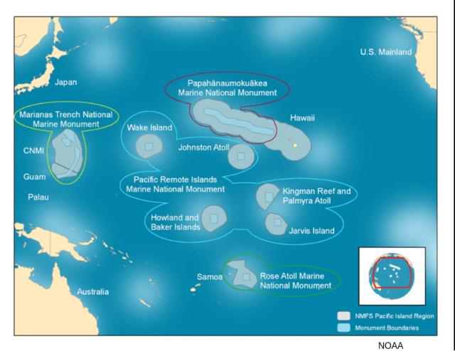 Pasifik Adaları Deniz Ulusal Anıt Bölgesi