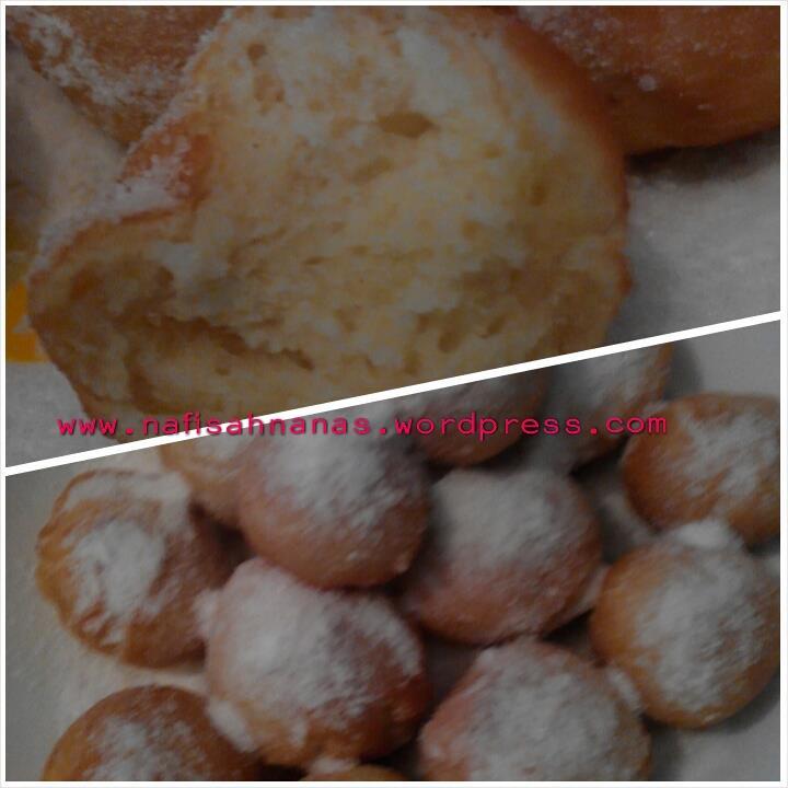 Resepi Donut mudah, lembut dan gebu (5/5)
