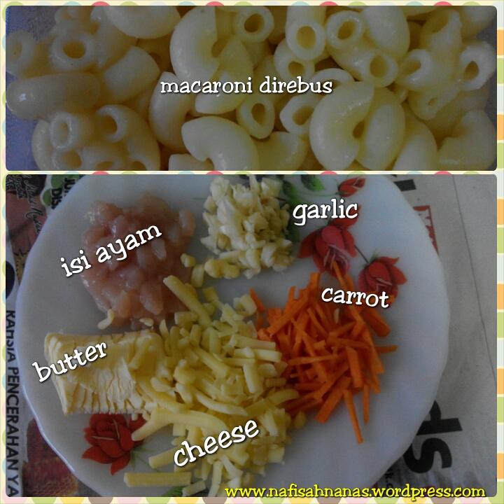Resepi macaroni cheese untuk bayi 11 bulan (1/2)