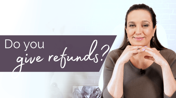 Do you give refunds?