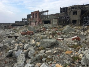 Ruins on Gunkanjima