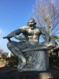 Statue by Seibo Kitamura