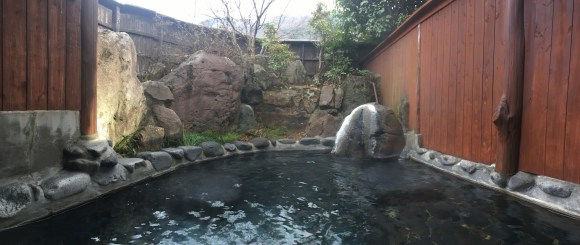 Sakura Bath at Nurukawa Onsen