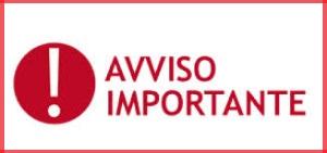 AVVISO IMPORTANTE | Naga