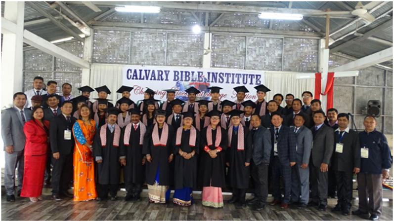 Graduation ceremony of Calvary Bible Institute held
